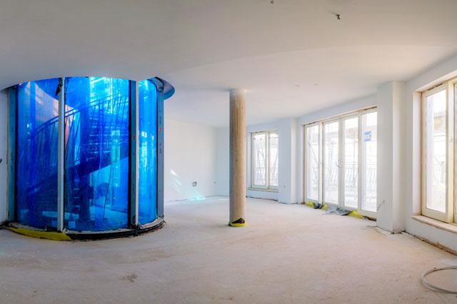 Optimum Drywall Systems Bath Riverside Development for Crest Nicholson Regeneration