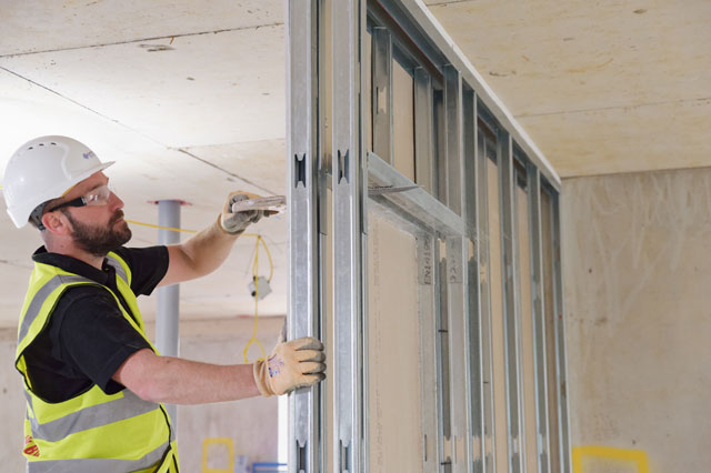 Optimum Drywall Systems The General Bristol for City & Country
