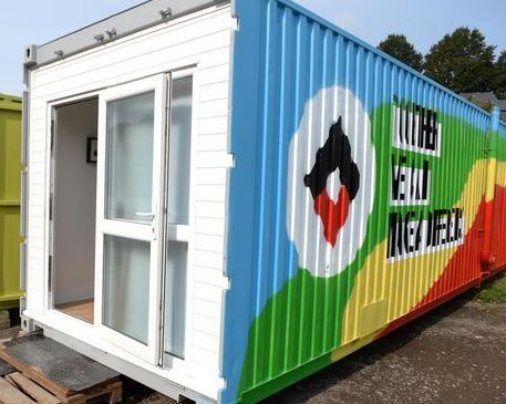 Optimum complete Helping Bristol Homeless charity homes trailer project